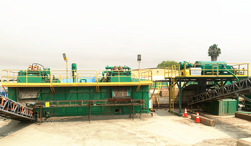 Construction Slurry Dewatering System Working in North America_